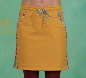 Rock, Sporty Sister Skirt, retro-yellow