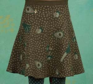 Rock, Supernatural Skirt, veggie-love