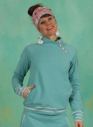 Pullover, Oh So Nett Sweat, aqua-blue