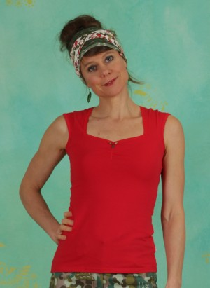 Top, Logo Top Romance Uni, simply-red