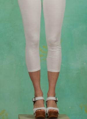 Leggins, Logo 3/4 leggings, simply-white