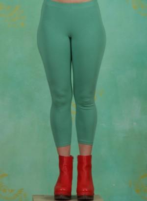 Leggins, Logo 3/4 leggings, simply-green