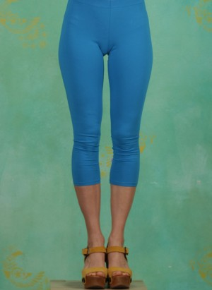 Leggins, Logo 3/4 leggings, simply-blue