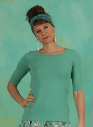 Shirt, logo shirt legere, simply-green