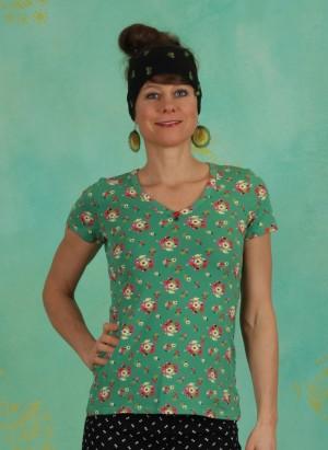 Shirt, Sunshine Camp T-Shirt, jungle-flowers