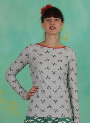 Shirt, Madel Ahoi Longsie, carrie-the-cherries