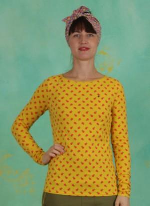Shirt, Madel Ahoi Longsie, orange-picking