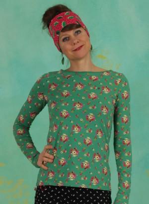 Shirt, Madel Ahoi Longsie, jungle-flowers