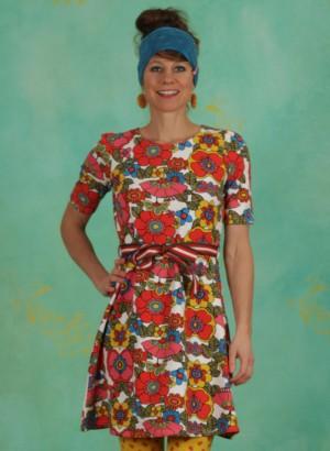 Kleid, Caravan Of Love Dress, shower-flower
