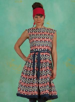 Kleid, Tres Chic Chansonette Robe, lovely-lido