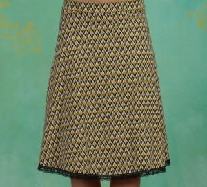 Rock, Secret Showgirl Skirt, tiki-gold