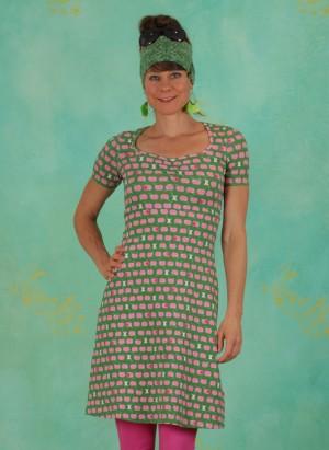 Kleid, Belle De Jours Petit Robe, pink-apples