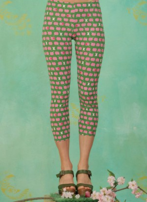 Leggins, Happy Holiday Legs, pink-apples