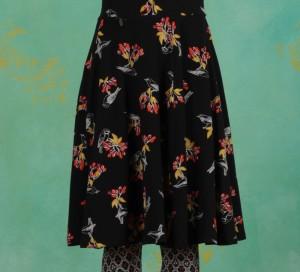 Rock, Wooden Heart Circlar Skirt, berrie-birds