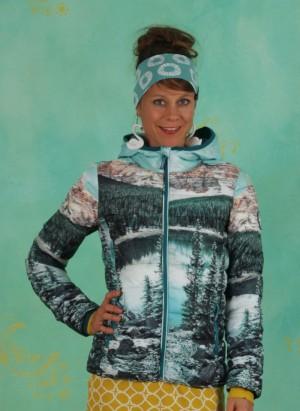 Jacke, Four Seasons Digi Jacket, hike-to-the-mountains