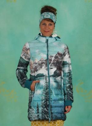 Mantel, Four Seasons Digi Longjacket, hike-to-the-mountains