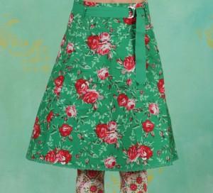 Rock, Bonjour Jardin Skirt, springtime-soul