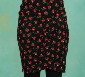 Rock, Dreamy Swinging Skirt, cherry-ladybug