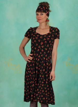 Kleid, Urlaub auf Balkonien Robe, cherry-ladybug