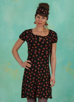 Kleid, Kleid Heart On Fire, cherry-ladybug