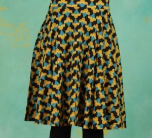 Rock, Fullmoon Circle Skirt, tulpé-olé