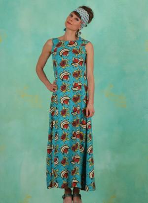 Kleid, Ritual Robe, papaya-punch
