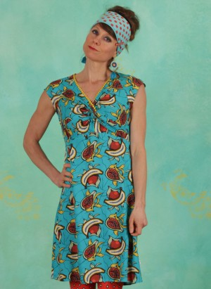Kleid, Kap Knot Etui, papaya-punch