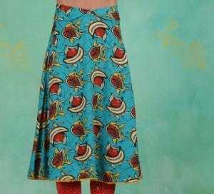 Rock, Rose Garden Ceremony  Skirt, papaya-punch