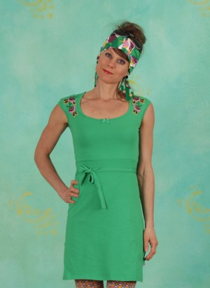Kleid, Pata Pata Dress, green-tree