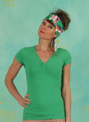 Shirt, Mon Coeur Tee, green-tree