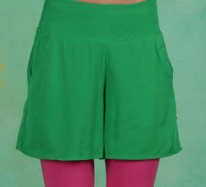 Shorts, In Full Bloom, joyful-green