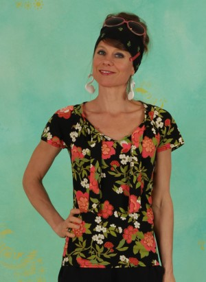 Shirt, Carmelita, maison-de-jardin