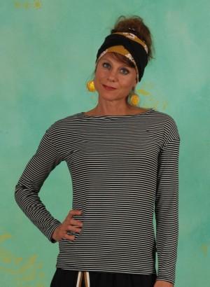 Shirt, Sweet Sailorette, after-dark-stripes