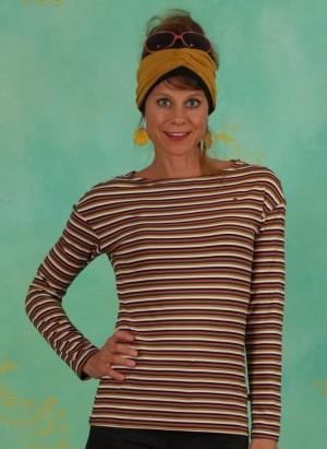Shirt, Sweet Sailorette, all-colour-stripes