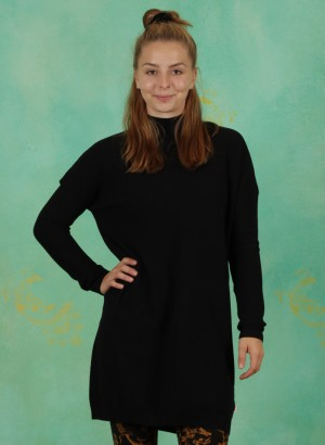 Long-Pullover, Straight N` Easy Turtle, blacky-classic