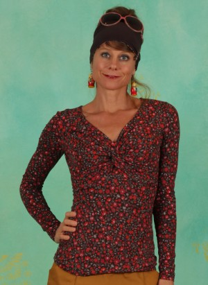 Shirt, Hot Knot Lacy, madame-mireille