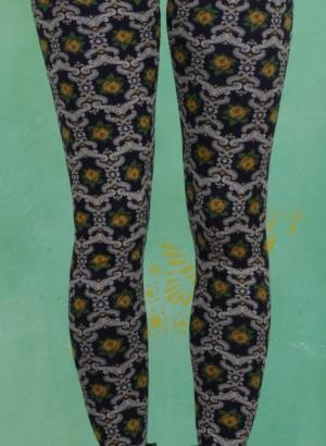 Leggings, Tanzlaune Legs, iceflower-ornament