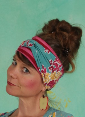 Haarband, Knot Of Knowledge Hairband, super-retro-bouquet