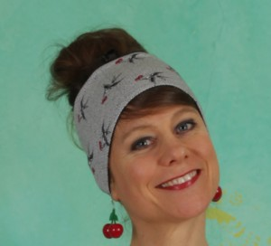 Haarband, Happy Hair Wrap, carrie-the-cherries