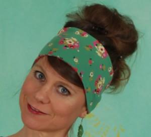 Haarband, Happy Hair Wrap, jungle-flowers