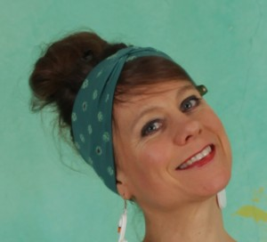 Haarband, Tiny Knot Hairband, lucky-clover