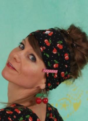 Haarband, Knot Of Knowledge Hairwrap, cherry-ladybug