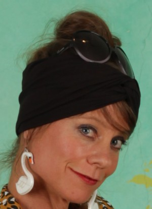 Haarband, Diva Knot, black-beautys