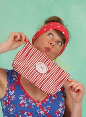 Kulturtasche, Sweethearts Washbag, full-of-stripes