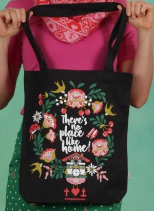 Tasche, Just Wunderbar Tote Bag, black-twister