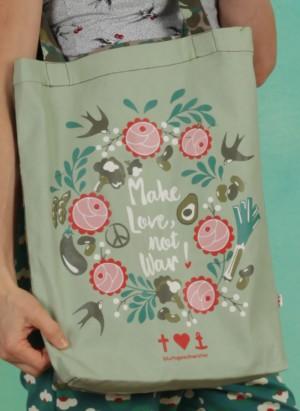 Tasche, Just Wunberbar Tote Bag, veggieflage