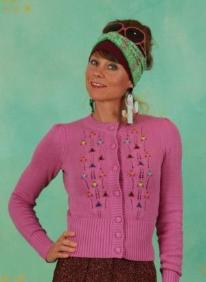 Cardigan, 06405-521, pink