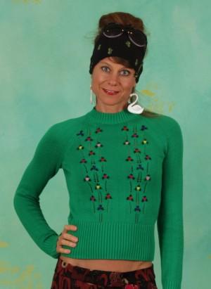 Pullover, 06406-257, green