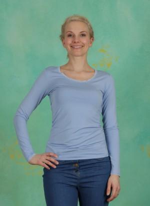 Shirt, Basic Lace, serenity