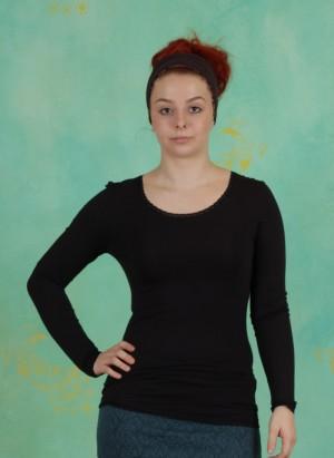 T-Shirt, Basic Lace, black17